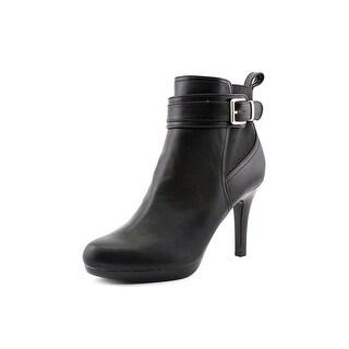 Alfani Ranjer Women Round Toe Synthetic Black Ankle Boot