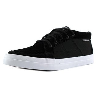 DVS Rivera Round Toe Suede Sneakers