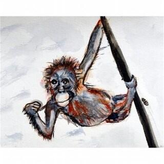 Betsy Drake DM436G Monkey Door Mat Large