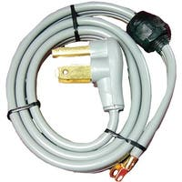 Certified Appliance 90-1020Qc 3-Wire Quick-Connect Dryer Cord, 30 Amps, 4Ft (Closed Eyelet)