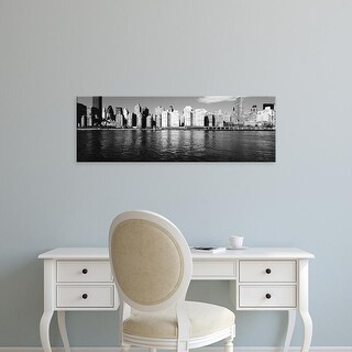 Easy Art Prints Panoramic Images's 'Skyscrapers at the waterfront, East River, Manhattan, New York City' Canvas Art