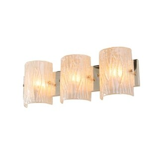 Alternating Current AC1303 Brilliance 3 Light Wall Sconce ADA Compliant