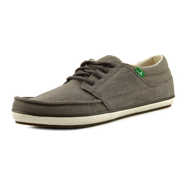 Sanuk TKO Men Moc Toe Canvas Gray Oxford