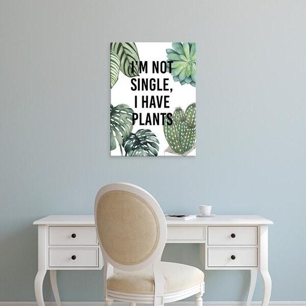 Easy Art Prints Studio W's 'Plant Love V' Premium Canvas Art