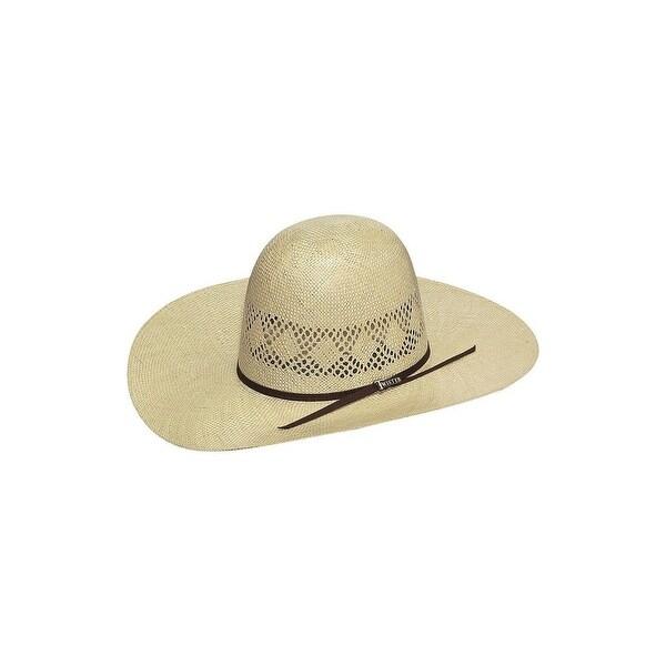 ebb1af2c84d8d Shop Twister Cowboy Hat Men Open Crown 8X Sisal Straw 7