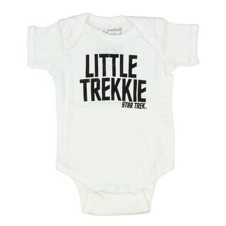 Star Trek Little Trekkie Baby Romper Snapsuit