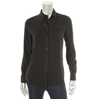 Ralph Lauren Womens Blouse Button-Down - xs