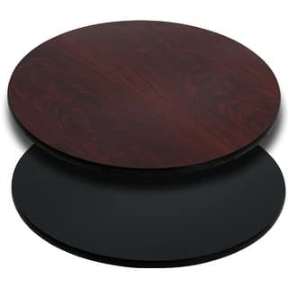 Offex 24'' Round Table Top with Black or Mahogany Reversible Laminate Top [OF-XU-RD-24-MBT-GG]|https://ak1.ostkcdn.com/images/products/is/images/direct/386cc69efaa505c6692f551e395f111f5f0f8043/Offex-24%27%27-Round-Table-Top-with-Black-or-Mahogany-Reversible-Laminate-Top-%5BOF-XU-RD-24-MBT-GG%5D.jpg?impolicy=medium