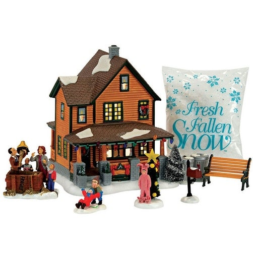 department 56 4057055 christmas story village building set 10 x 9 1