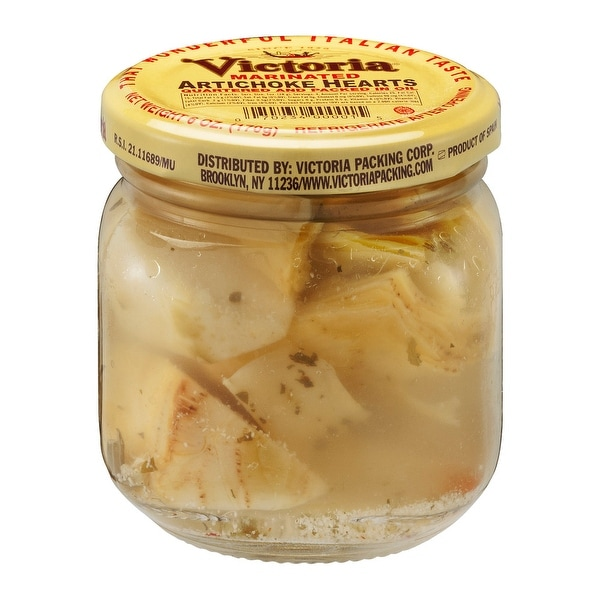 Victoria Marinated Artichoke - Case of 12 - 6 oz.