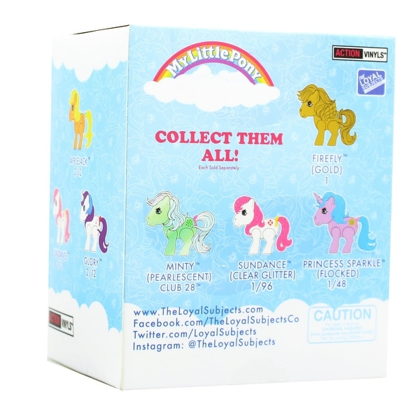 The Loyal Subjects My Little Pony Action Vinyls Princess Sparkle no box