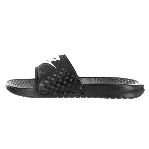 55d004a7515d ... clearance nike womens benassi open toe casual sport sandals 9852f ba606