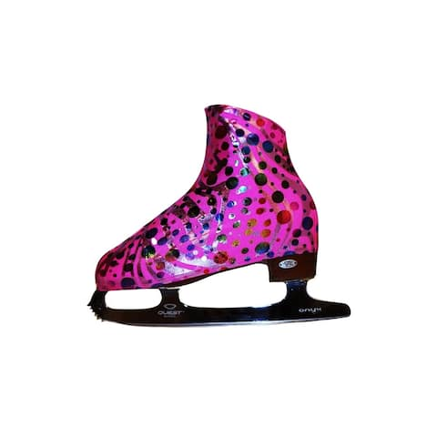 Ice Fire Skating Party Pink Boot Cover - One Size