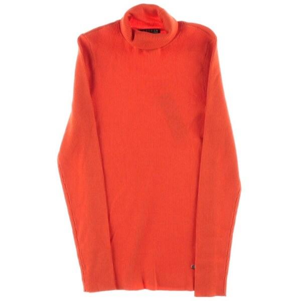 Lauren Ralph Lauren Womens Pullover Sweater Modal Blend Cowl Neck