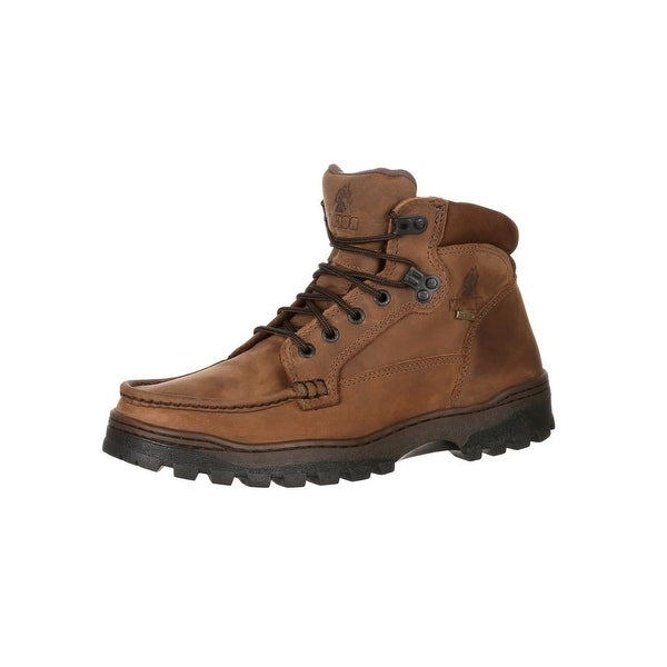 Rocky Outdoor Boots Mens Outback Gore-Tex Waterproof Brown