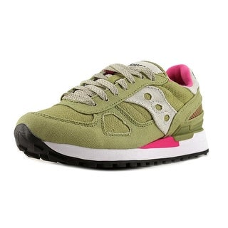 Saucony Shadow Original Women  Round Toe Canvas Multi Color Running Shoe