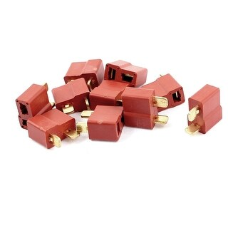10Pcs Female Ultra T Plug Connectors for RC LiPo Battery