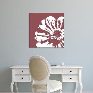Easy Art Prints GraphINC's 'Flower II' Premium Canvas Art