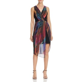 Laundry by Shelli Segal Womens Cocktail Dress Printed Sleeveless