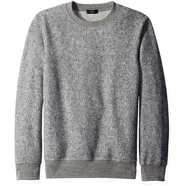 1f16525cd31 Shop Theory NEW Gray Mens Size Large L Crewneck Pullover Knit ...