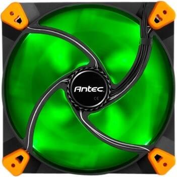 Antec TRUE QUIET 120 GREEN Antec TrueQuiet 120mm LED - 1 x 120 mm - 1000 rpm - Silicon - Retail