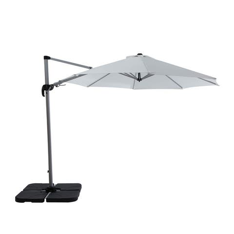 Creekside 10' Heavy Duty Cantilever Patio Umbrella