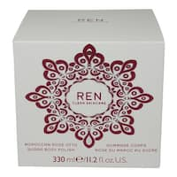 REN Skincare Moroccan Rose Otto Sugar Body Polish 11.2 Oz