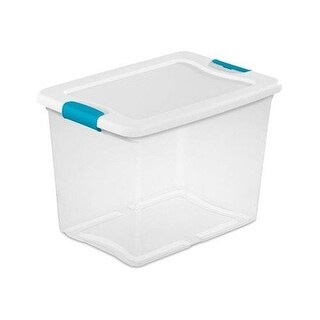 Sterilite 217904 14958006 25Qt See Latching Box - Pack of 6