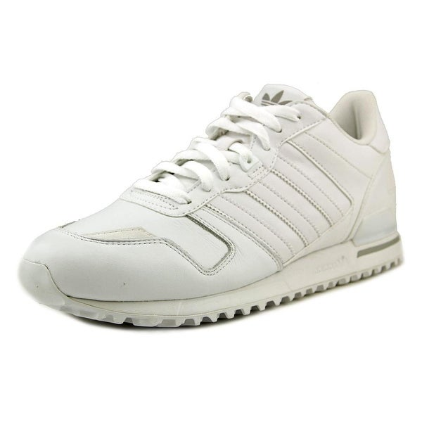 Adidas ZX 700 Men Round Toe Leather White Running Shoe