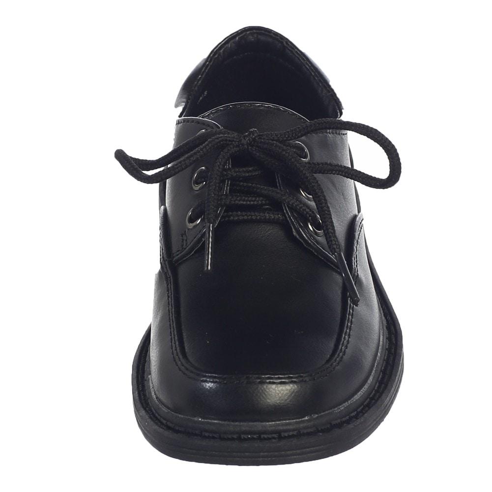 Lito Little Boys Ivory Matte Lace-Up Closure David Dress Shoes 8 Toddler
