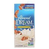 Imagine Foods Almond Dream Almond Drink - Unsweetened - Case of 12 - 32 Fl oz.