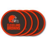 Cleveland Browns 4 Pack Coaster Set