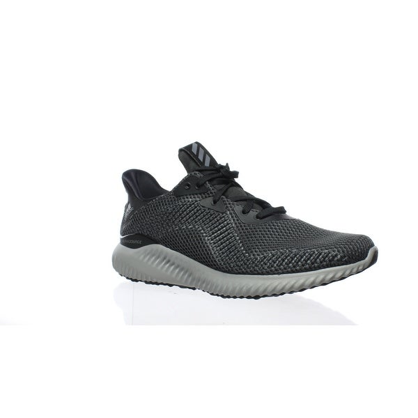 7c19adedec7cb Shop Adidas Mens Alphabounce 1 Gray Running Shoes Size 8.5 - Free ...