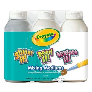 Crayola 3 Ct 8 Oz Tempera Mixing
