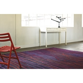 """Hand Knotted Mall New Zealand Wool Area Rug - 5'7"""" x 7'10"""""""