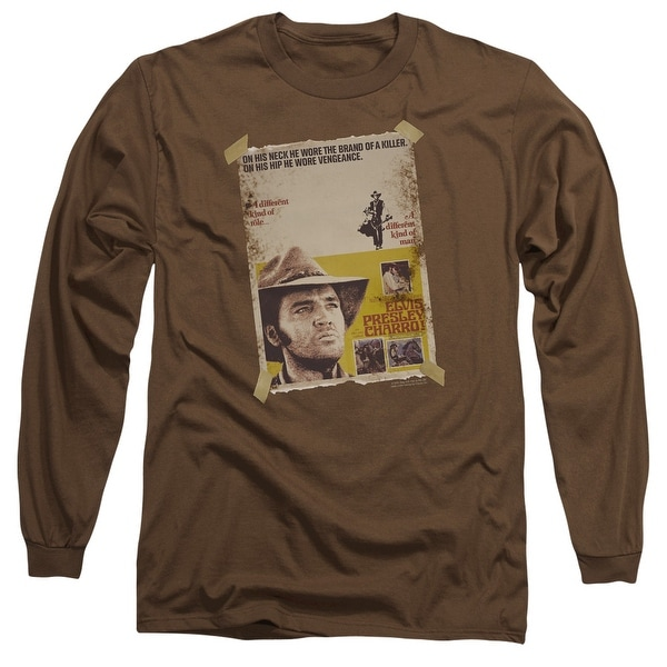 ee2753a1429571 Shop Elvis Charro Mens Long Sleeve Shirt - Free Shipping On Orders Over  45  - Overstock - 16951691