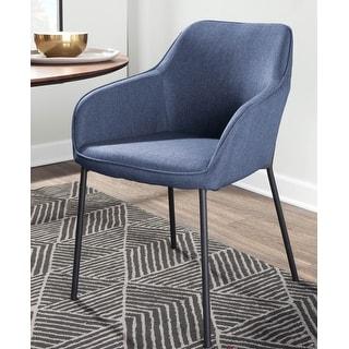 Carson Carrington Valsta Contemporary Dining Chair (Set of 2)