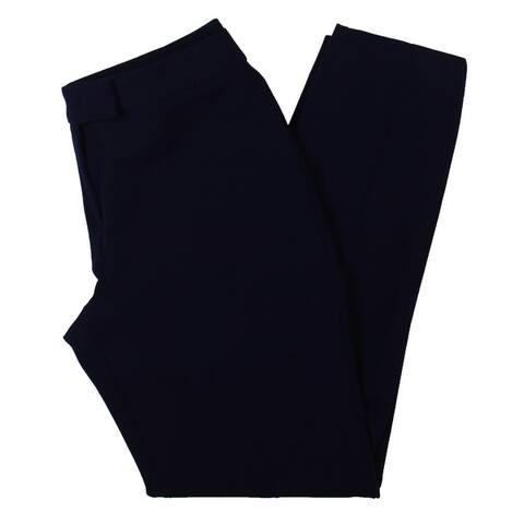 Anne Klein Womens Bowie Dress Pants Office Wear Straight Leg