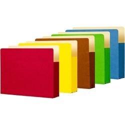"Prism (assorted) - Student Project Folders 9.5""X11.75""X3.5"" 5/Pkg"