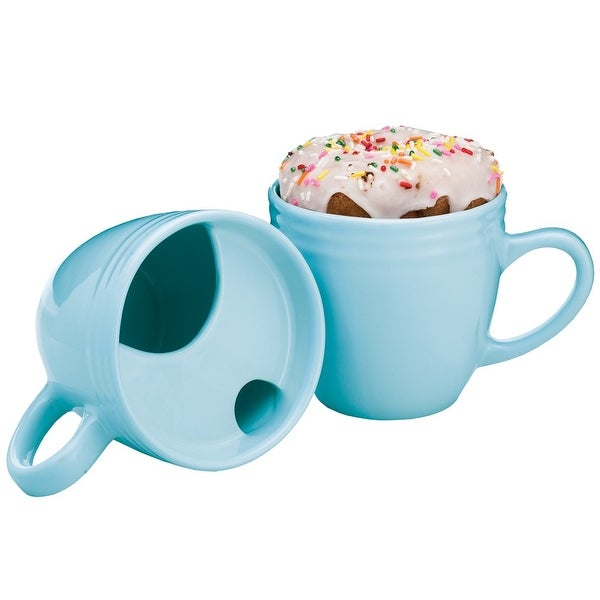Shop Best Morning Ever Mug - Coffee Cup & Pastry Donut ...