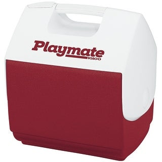 Igloo 7362 Playmate Pal Personal Sized Cooler, Diablo Red/White, 7 Qt