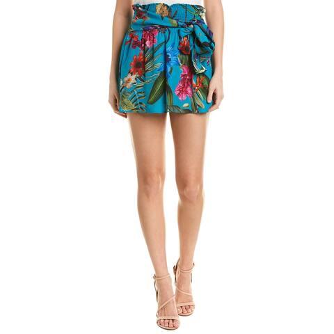 Parker Bridgette Silk-Blend Skirt
