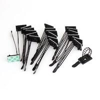 9.7 Inch Plastic Fasten Cable Wire Zip Tie 100 Pieces - Free ...