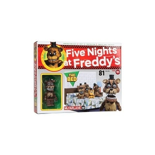 Five Nights At Freddy's Construction Set: The Bed