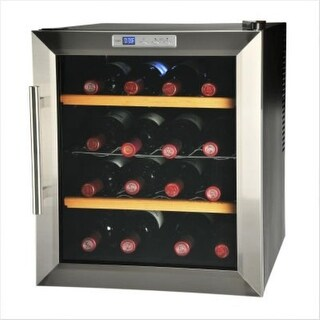 Kalorik WCL32963 16 Bottle Wine Cooler - STAINLESS STEEL