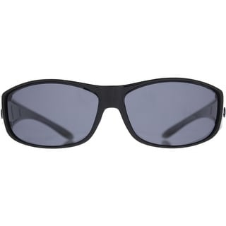 Barricade Mens Cover All Fashion Rectangle Sunglasses