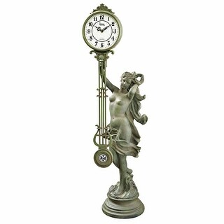Design Toscano Goddess of Time Pendulum Clock