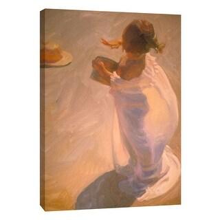 "PTM Images 9-105159  PTM Canvas Collection 10"" x 8"" - ""Transparent Sun"" Giclee Children Art Print on Canvas"