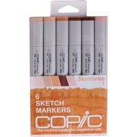 Copic Sketch Markers 6/Pkg-Skin Tones 1
