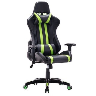 Costway Executive Racing Style High Back Reclining Chair Gaming Chair Office Computer
